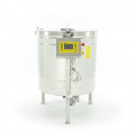 Yatarlı Bal Süzme Makinesi - 800mm, 6 çerçeveli, Alttan Motorlu, Full Otamatik Kontrol Paneli (PREMIUM)