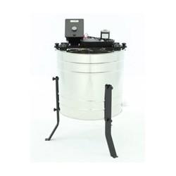 Bal Süzme Makinesi - 600mm, 4 çerçeveli, Çevrilebilir kasetli, Elektrikli 12V-220V, BASIC