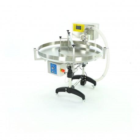 Bal Şişeleme Makinesi ve Döner Masa (PREMIUM)