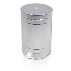 """Paslanmaz Dinlendirme Kazanı, 200 L, Plastik vana 2"""" (Çap 600 mm Yükseklik: 730 cm) - OPTİMA - Karton kutu ile paketlenmiş"""