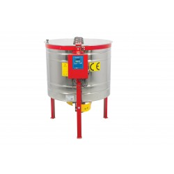 Yatarlı Bal Süzme Makinesi - 720 mm, 4 Çerçeveli, Elektrikli 220V+12V (OPTIMA)