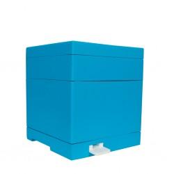 Mini çoğaltma Kovanı 6 çerçeveli (taban, gövde, üst bölme, besleyici, raf, 6 çerçeve)